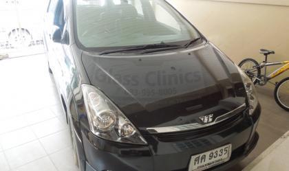 รูป8.กระจกรถยนต์ที่ซ่อมโดยGlass Clinics